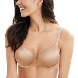 Hanes New Ultimate No Show Underwire Bra DHHU33